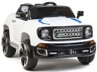 Ride on Car 12v Electric Jeep Style SUV with Parental Radio Control White